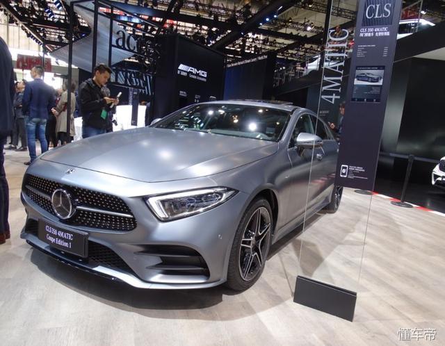 2018北京车展热门轿跑新车盘点:奔驰cls,大众cc领衔