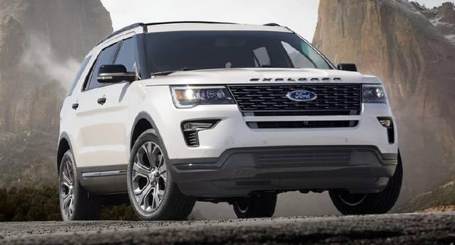 2020款福特探险者explorer年底亮相 能和丰田普拉多一较高下吗