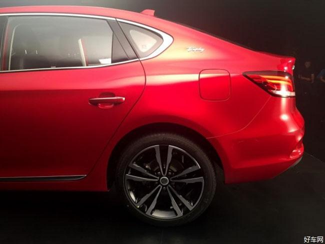 采用概念车设计元素 全新名爵6正式发布