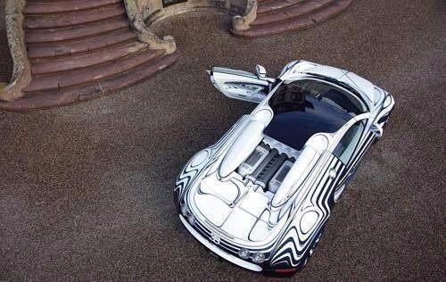 陶瓷车身的布加迪威龙全世界只有一辆