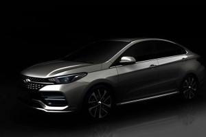 奇瑞公布全新车型预告图 将于北京车展亮相