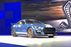 明年亮相 新Mustang Shelby GT500实车曝光