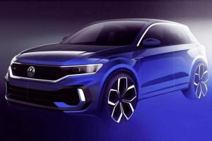 马力有望超过300匹 大众T-ROC R概念车预告公布