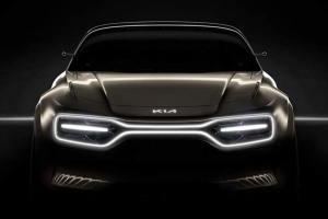 起亚全新电动概念车预告图公布 将亮相日内瓦车展