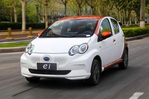 大胆精致的代步小车 试驾比亚迪纯电动e1
