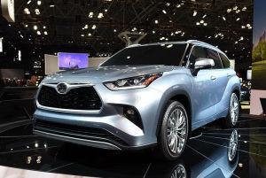 2019纽约车展:全新一代丰田汉兰达首发