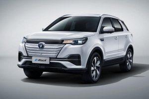 緊湊型SUV長安E-Rock官圖發布 將于廣州車展亮相