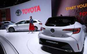 豐田全球銷量目標下調至1,070萬輛 市場預估5222.4億日元