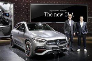 全新一代奔驰GLA正式亮相 预计2020年国产