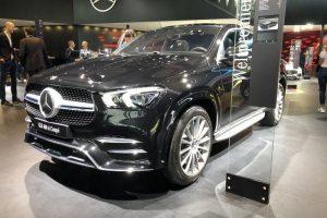 全新奔驰GLE Coupe将于明年上市 内饰风格一致