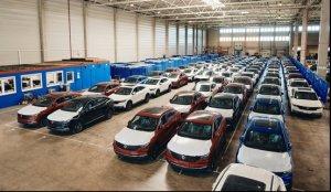 东风风光ix5专列抵达德国 中国品牌乘用车出口市场升级