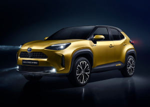 豐田全新小型SUV即將來華,雙擎混動+四驅系統,又一爆款車型!