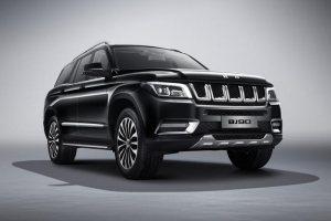2020款北京BJ90正式上市 售價69.80萬元起
