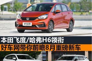 本田飞度/哈弗H6领衔 聚彩彩票官方网带你前瞻8月重磅新车
