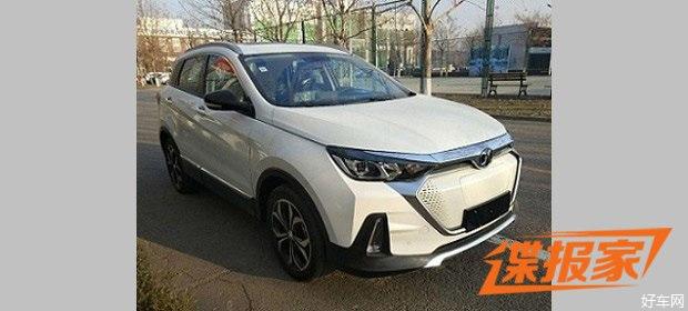 定位纯电紧凑型SUV 北汽新能源EX5申报图曝光