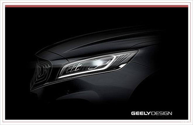 全车采用LED光源 吉利博瑞GT最新预告图发布