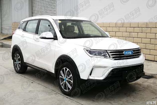 定位小型纯电动SUV 野马EC60申报图曝光