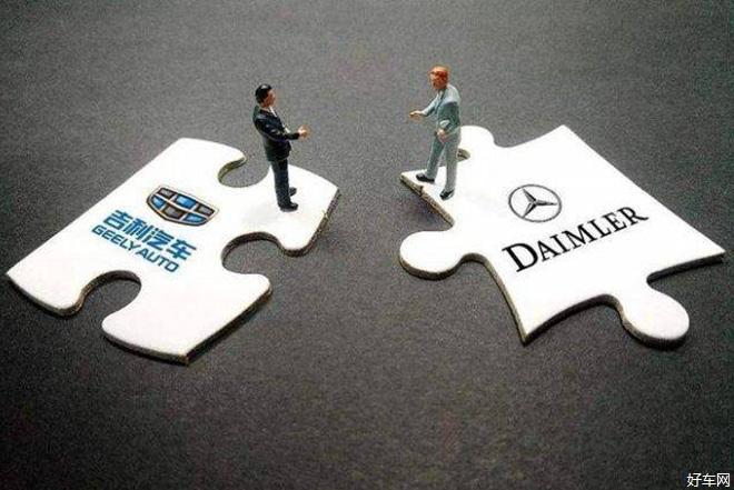 戴姆勒将与吉利强强联手 合资成立网约车公司