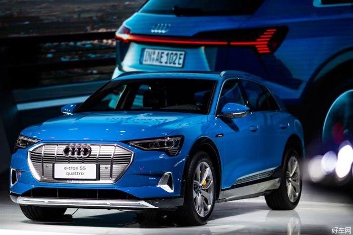 2020年国产 奥迪e-tron quattro正式亮相国内