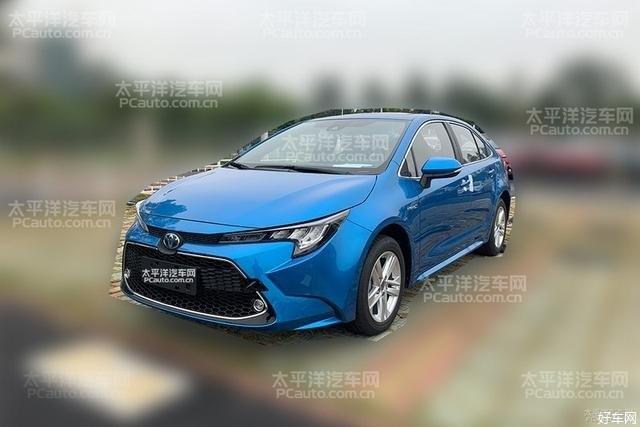 广汽丰田全新雷凌双擎实车曝光 将于5月20日上市