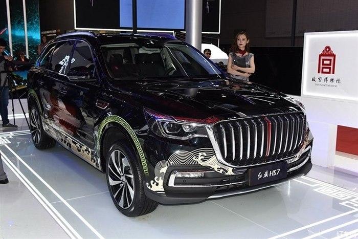 一汽红旗全新豪华SUV HS7将7月12日上市