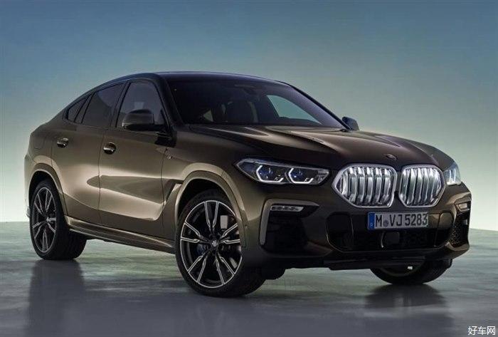 全新一代宝马X6官图曝光 继续掀背SUV造型