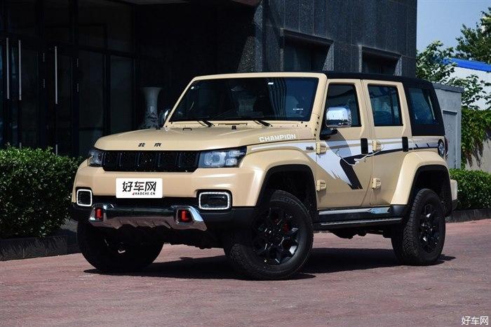 新款北京BJ40越野家族上市 售價16.49萬元起