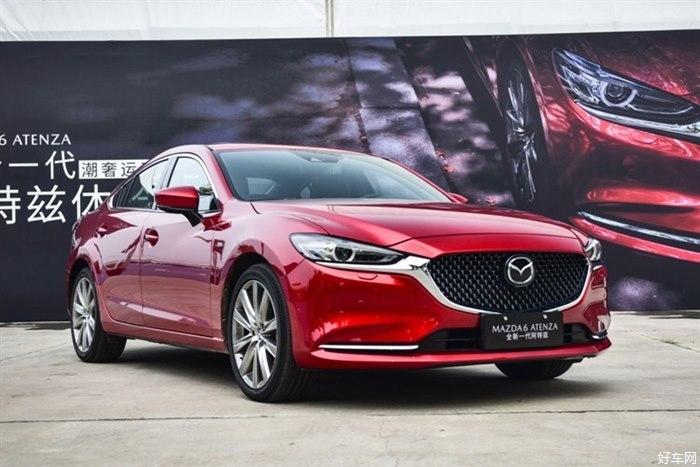 全新車內設計 新款馬自達阿特茲將8月20日上市