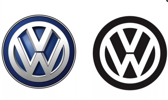 大众自2000年后首次更改logo 第八代高尔夫将首先使用