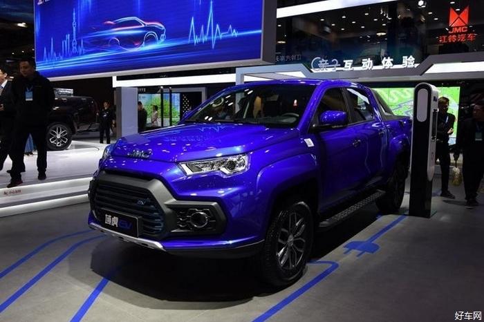江铃域虎EV上市 补贴前售24.80万起