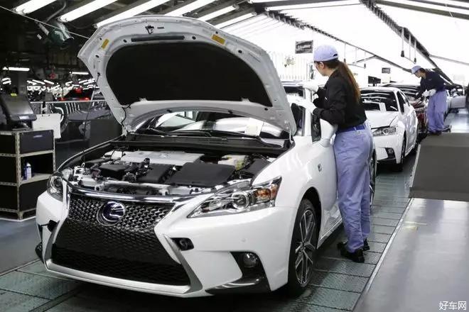 雷克薩斯供應中斷 豐田宣布5家工廠下月停產