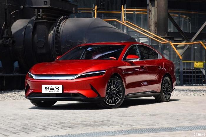 比亞迪漢將于7月10日上市 定位中大型車