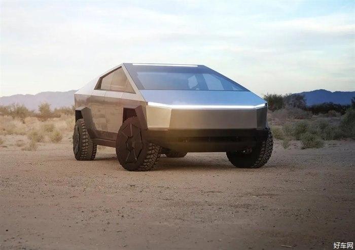 特斯拉電動皮卡要來了,超科幻造型+自適應空氣懸架,網友表示只恨自己沒錢
